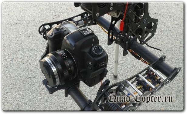 Гироподвес с камерой для квадрокоптера