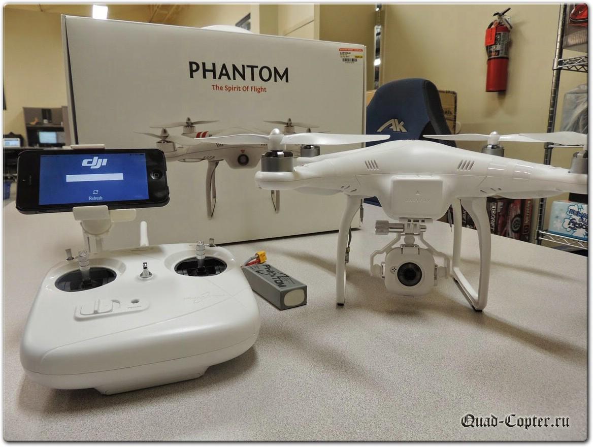 где купить квадрокоптер DJI Phantom FC40
