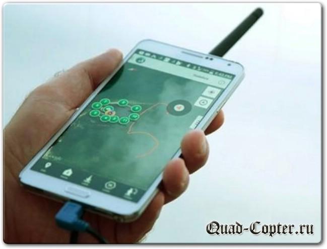 подключение смартфона к квадрокотеру