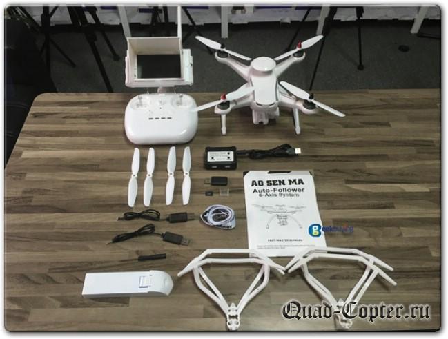 Квадрокоптер с камерой и FPV для начинающих