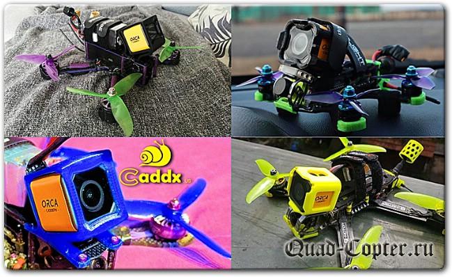 Обзор Caddx Orca 4k - бюджетная экшен камера со стабилизатором изображения