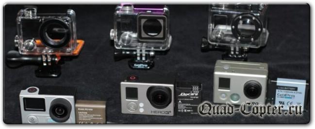 Экшн камера EKEN H8R. Сравнил с GoPro Hero 2 и Hero 3+