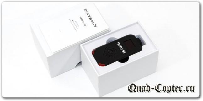 Hawkeye Firefly Q6 Airsoft экшн-камера для RC моделей – новая комплектация