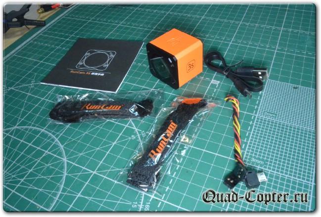 Обзор экшенкамеры RunCam 3S