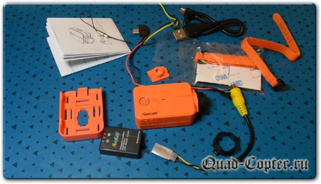 Обзор RunCam 2 - камеры для квадрокоптера