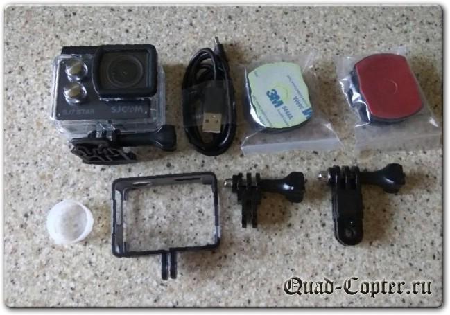Экшен камера SJCAM SJ7 STAR. Небольшое сравнение с GitUp Git2.