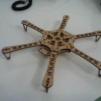 Plywood Hexacopter