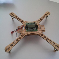 Plywood Quadcopter Frame