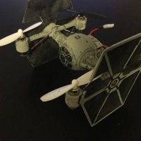Tie Fighter Body for Hubsan X4 H107
