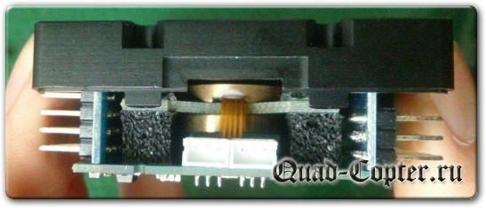 Внутренности контроллера квадрокоптера Tarrot ZYX-M