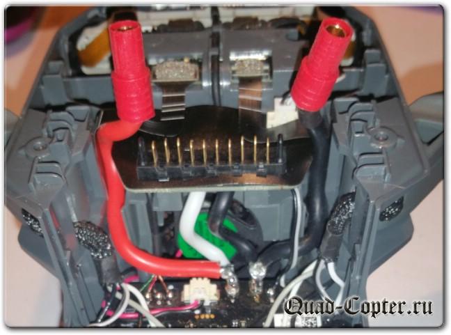 подключение дешевого аккумулятора к DJI Mavic