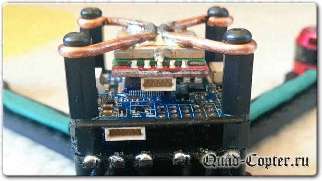 радиатор для FPV видео передатчика