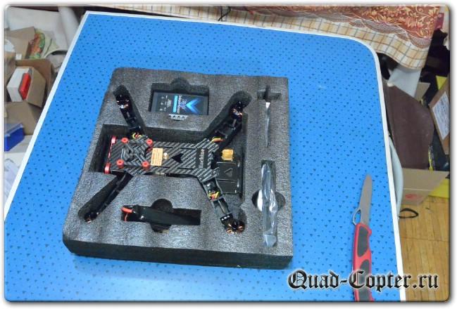 полетный ящик для Drone Racing