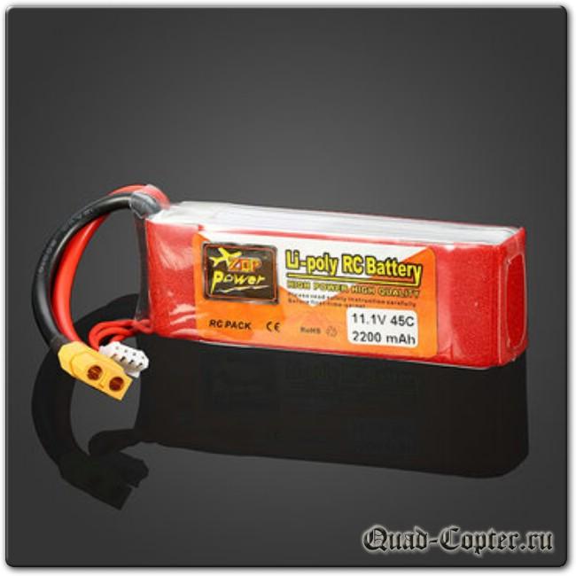 Аккумулятор для квадрокоптера Eachine Racer 250