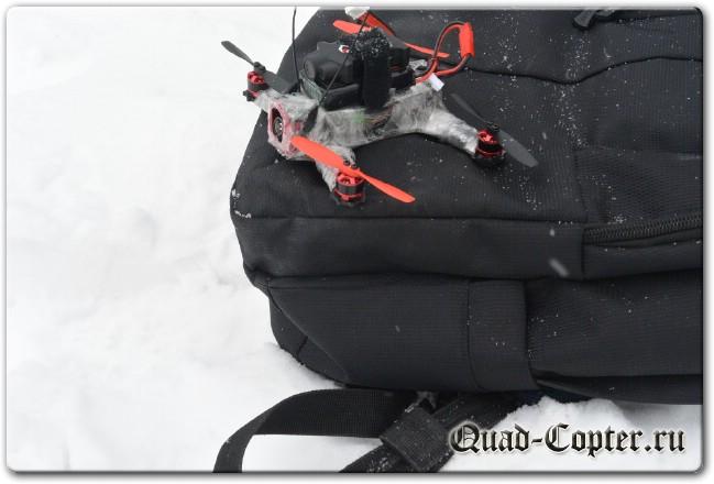герметизация квадрокоптера от снега