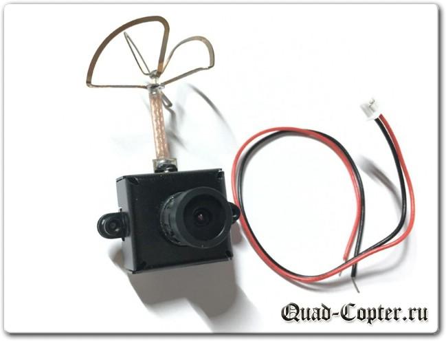 Обзор FPV камеры Eachine EF-01 AIO 5.8G 40CH 25MW VTX 800TVL 1/3 Cmos FPV Camera