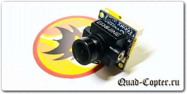 Обзор: курсовая камера Eachine SpeedyBee SEC