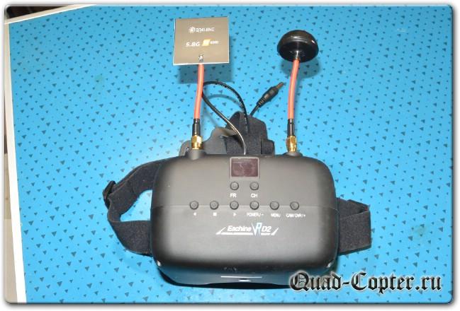 обзор видеошлема Eachine VR D2
