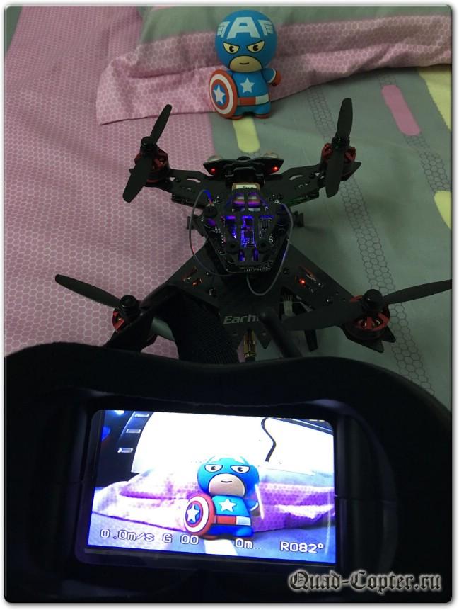 обзор видеошлема Eachine VR-007