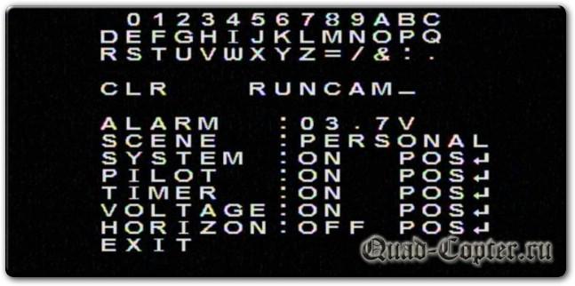 Курсовая камера для FPV моделей — Runcam Micro Swift 3