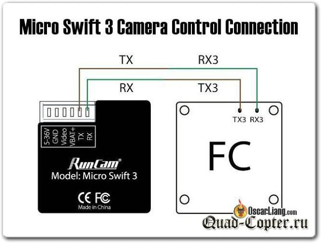 Обзор: курсовая камера Runcam Micro Swift 3
