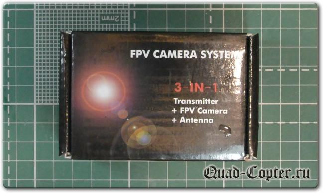 FPV камера AKK A1-OSD для TinyWhoop квадрокоптеров
