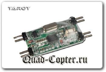 OSD для FPV квадрокотпера
