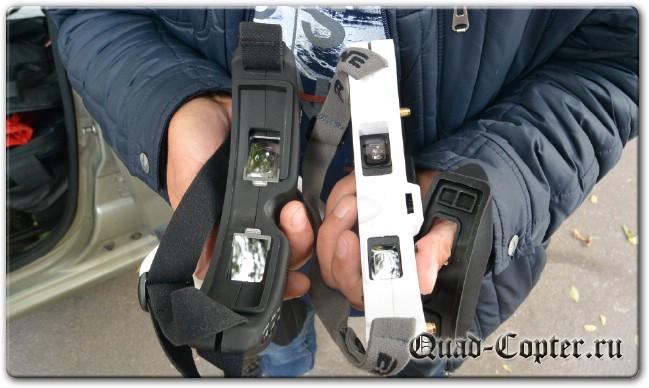 обзор Eachine EV100 720*540 5.8G 72CH FPV Goggles With Dual Antennas Fan 7.4V 1000mAh Battery