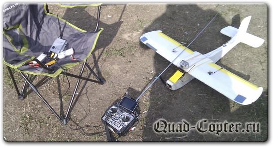 FPV на радиоуправляемой авиамодели