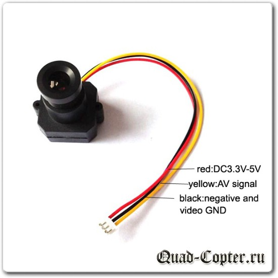 Курсовая CMOS FPV камера для квадрокоптера