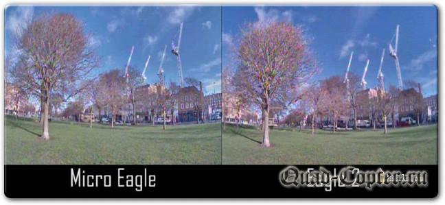 Обзор: курсовая камера Runcam Micro Eagle