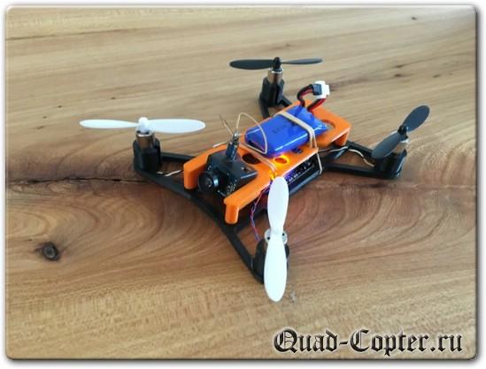 Квадрокоптер размера мини для FPV полетов