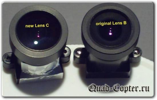 Объективы камеры Mobius