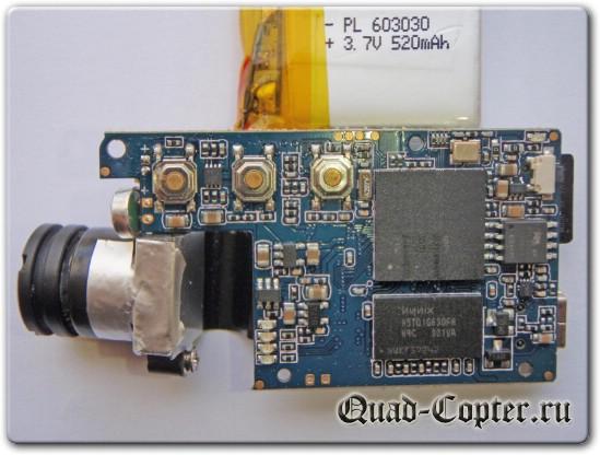 Электроника камеры Mobius