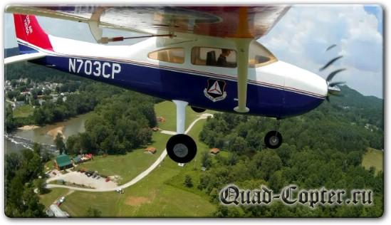 Крепление камеры Mobius на авиамодель