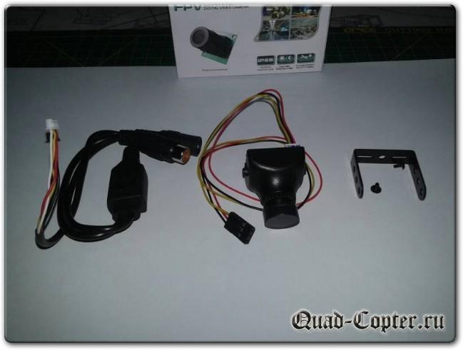 "Обзор камеры 600TVL 2.8mm Lens 1/3"" Sony Super Had II CCD Camera for FPV Racing Drone PAL/NTSC"