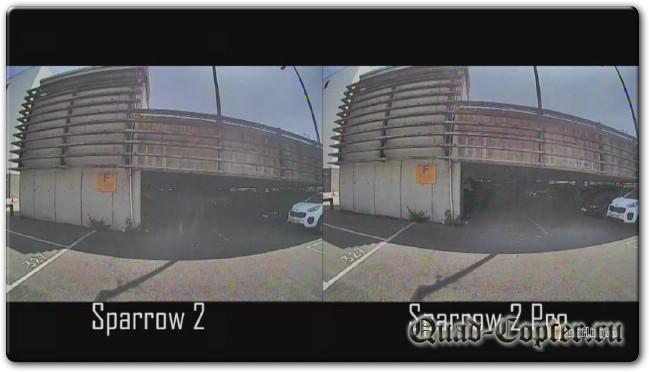 Обзор: курсовая камера Runcam Sparrow 2 Pro