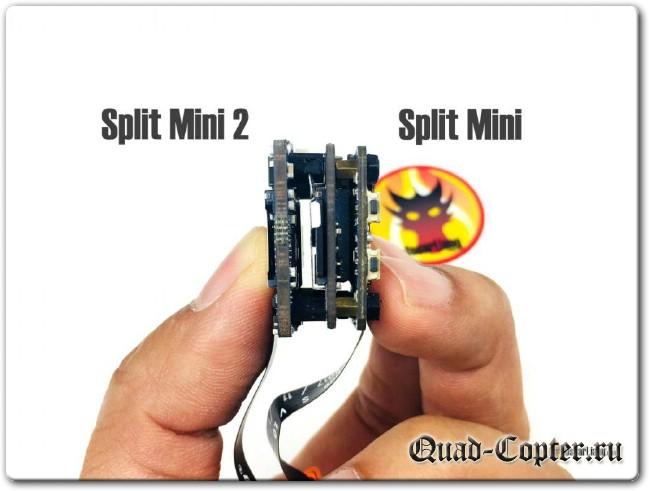 Обзор: курсовая и HD камера Runcam Split Mini 2