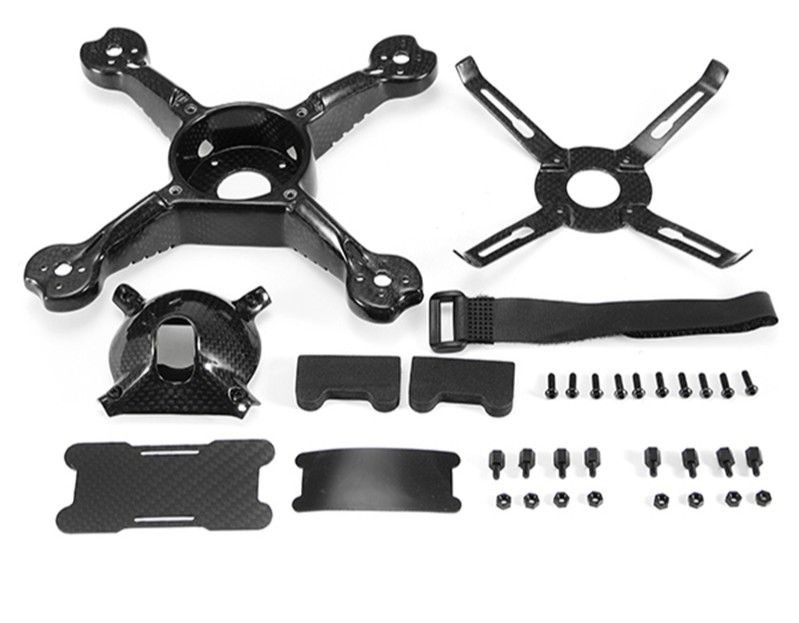 Рама квадрокоптера Realacc Carbonstar 190mm Carbon Fiber FPV Racing Frame Kit 108g