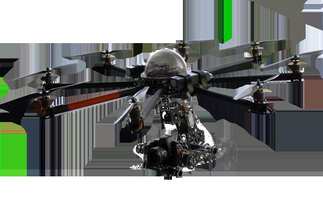 Квадрокоптер для съемки фильмов