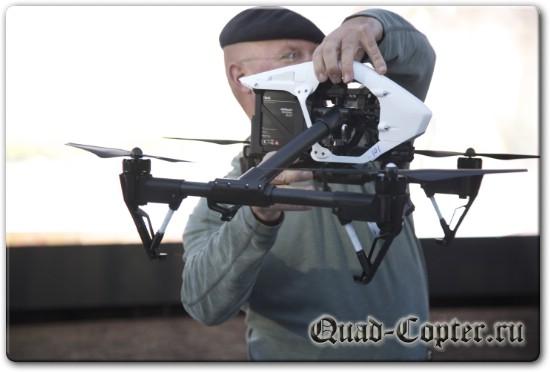 Обзор квадрокоптера Inspire 1