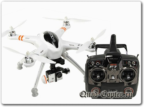 Обзор квадрокоптера Walkera QR X350