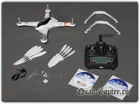 Walkera QR X350 - радиоуправляемый квадрокоптер