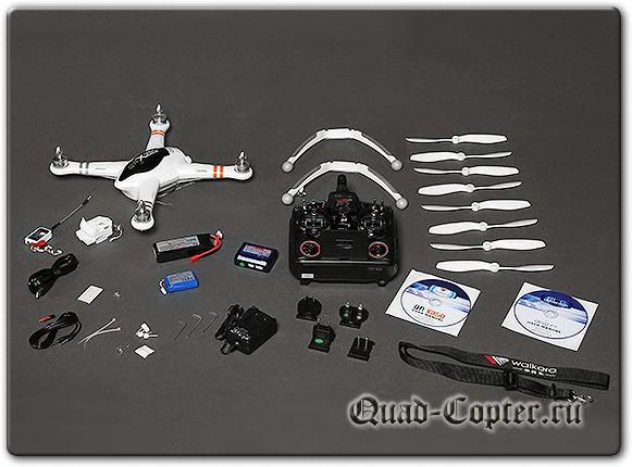 Walkera QR X350 FPV GPS DEVO F7 5.8GHz Camera