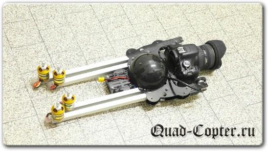 Подвес камеры для квадрокоптера своими руками фото 809