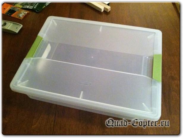 коробка для изготовления квадрокоптера
