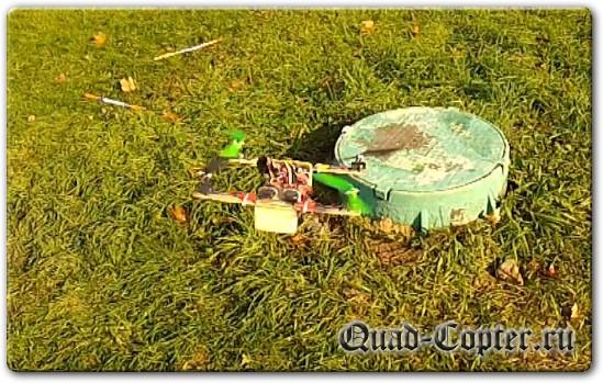 Самодельный квадрокоптер своими руками из линеек