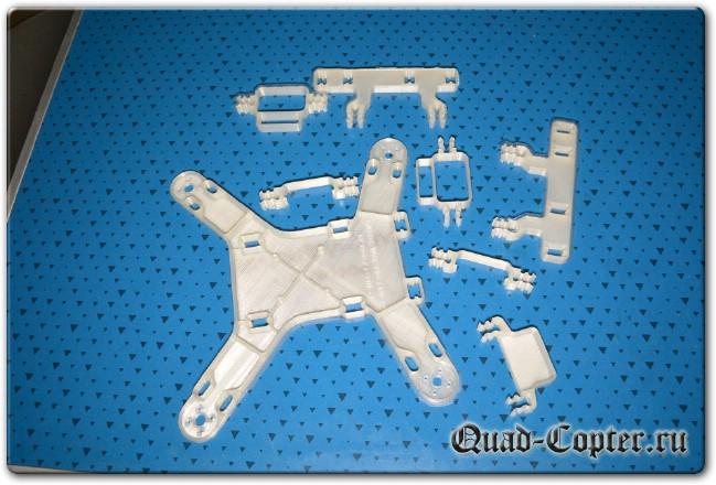 Самодельная рама квадрокоптера Spidex Micro