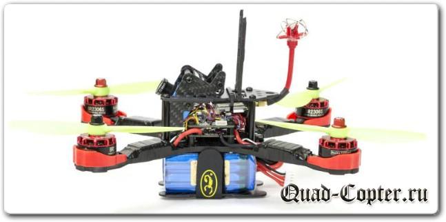 Набор для сборки гоночного квадрокоптера на раме Realacc XS220