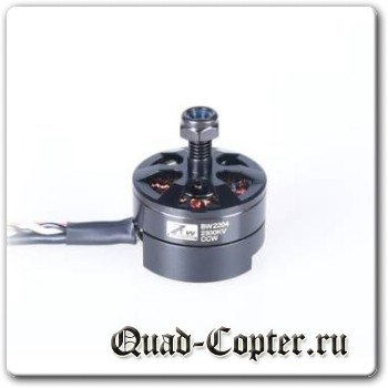 ZTW Black Widow 2204 18A Brushless Motor With Built in ESC 2 In 1 1900KV/2000KV/2300KV CW/CCW